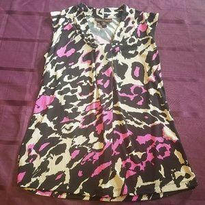 dana buchman tank top blouse size small